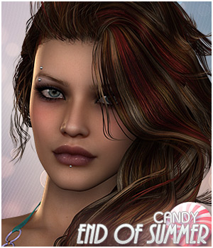 Candy End of Summer Hair 3D Figure Essentials Sveva