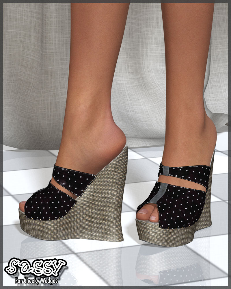 Sassy For Cheeky Wedges (G2F)