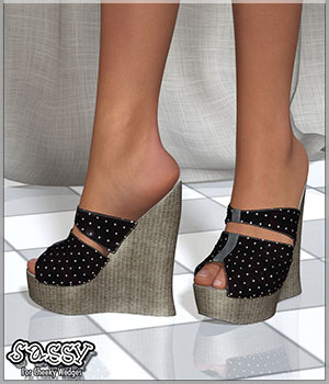 Sassy For Cheeky Wedges (G2F) 3D Figure Essentials Artemis