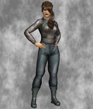 Urban Biker (Dawn) (for Poser) 3D Figure Assets Legacy Discounted Content VanishingPoint