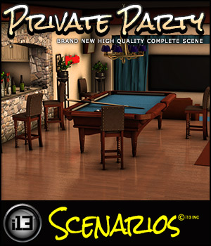 i13 Private Party 3D Models Software ironman13