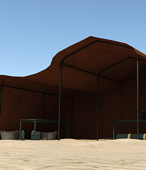 Desert Land: Tent Set 3D Models RPublishing