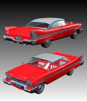 PLYMOUTH 1958 by Nationale7