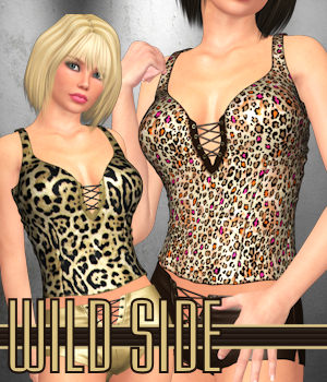 WILD SIDE for Shorties 3D Figure Assets ANG3L_R3D
