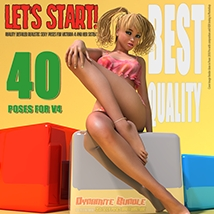 Dynamite Bundle - 350 Sexy V4 poses and furniture image 2