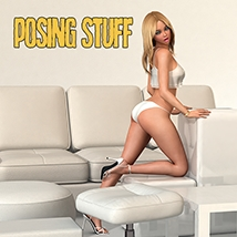 Dynamite Bundle - 350 Sexy V4 poses and furniture image 4