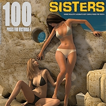 Dynamite Bundle - 350 Sexy V4 poses and furniture image 7