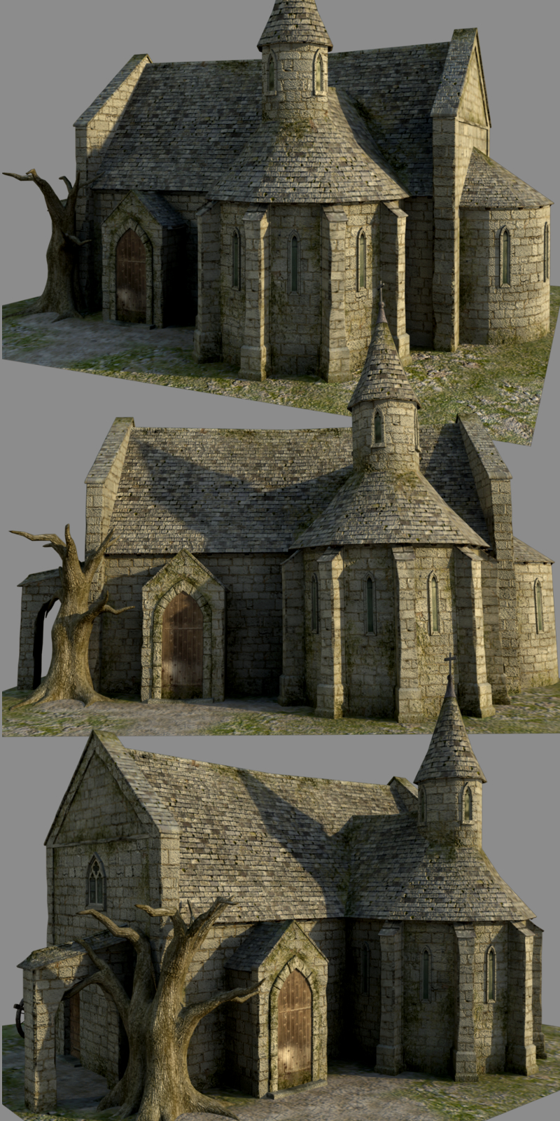 Medieval Church - Extended License
