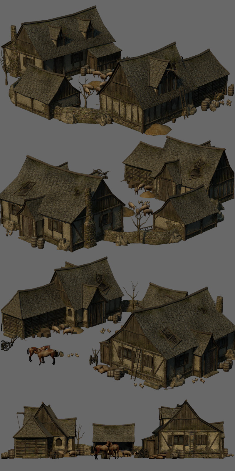 Medieval Farm - Extended License