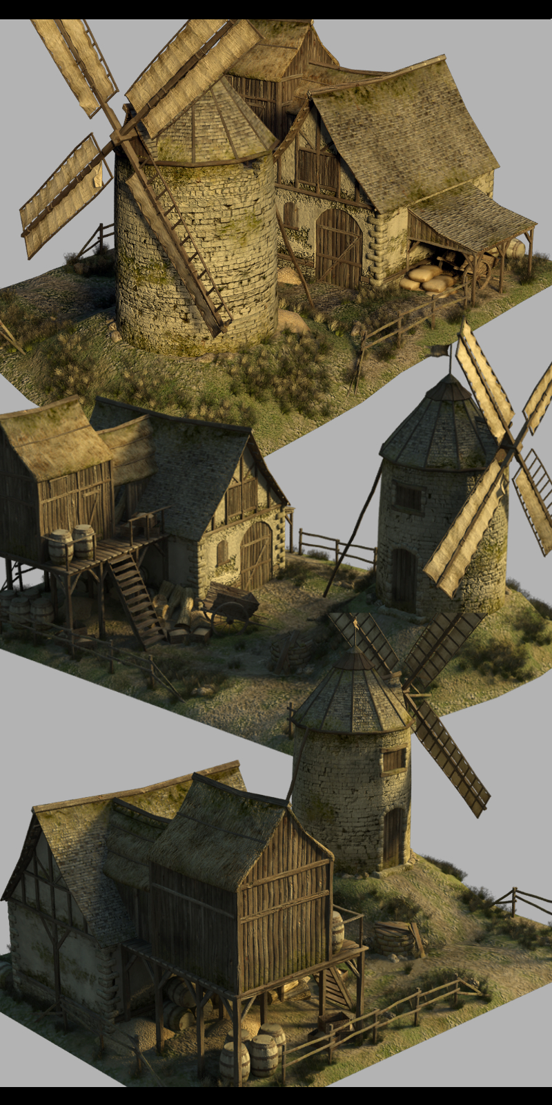 Medieval Windmill - Extended License
