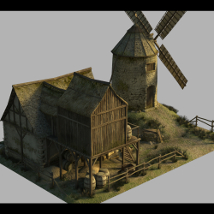 Medieval Windmill - Extended License image 2