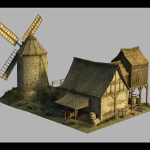 Medieval Windmill - Extended License image 3