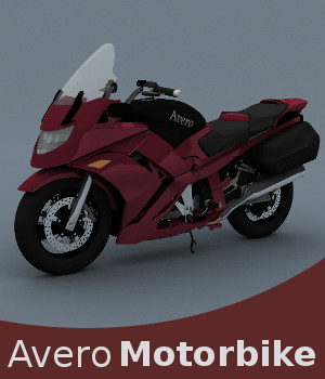Avero Motorbike 3D Models TruForm