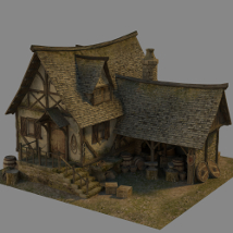 Medieval Forge 2 - Extended License 3D Models Gaming Dante78