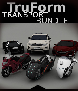 TruForm Transport Bundle 3D Models TruForm