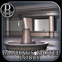 Bauhaus Hotel - Extended License 3D Models Gaming RPublishing