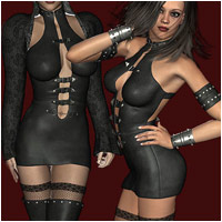 Black Rose - Extended License Gaming 3D Figure Essentials RPublishing
