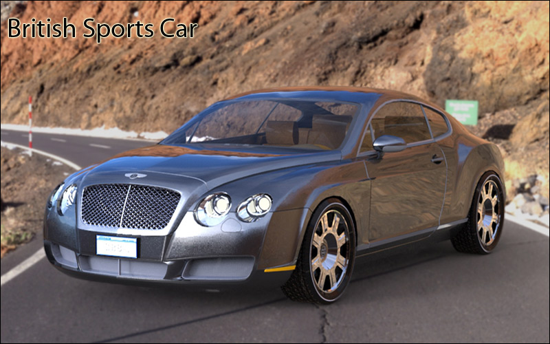 British Sports Car - Extended License