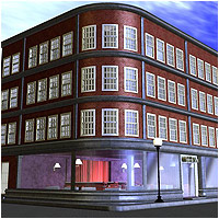 Cafe Day and Night - Extended License Gaming 3D Models RPublishing