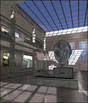 Classic Art Museum - Extended License Gaming 3D Models RPublishing