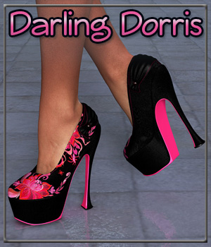 Darling Dorris 3D Figure Essentials 3-DArena
