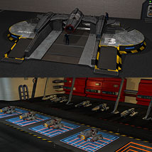 Sci Fi Fighter Bay image 1