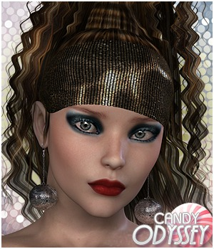 Candy Odyssey Hair 3D Figure Essentials Sveva