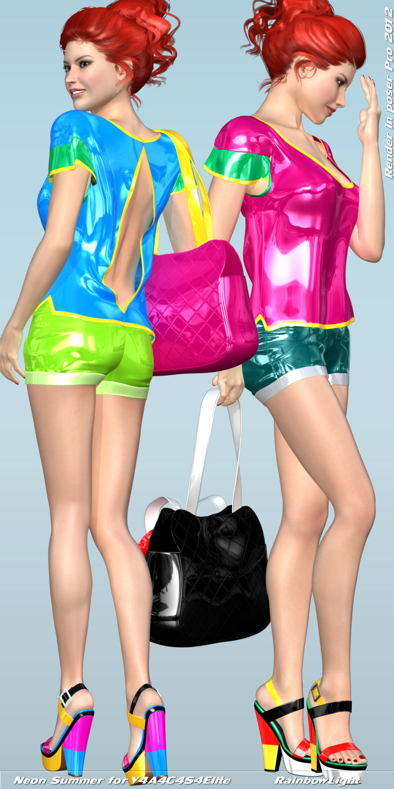 Neon Summer for V4A4G4S4Elite