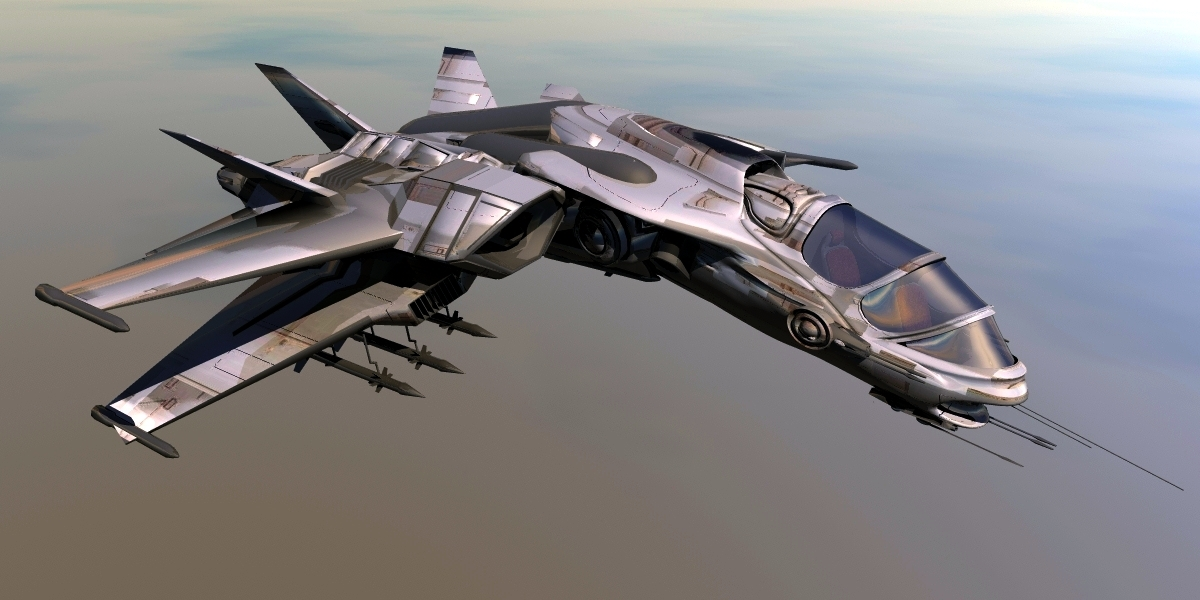 Mx-25 Space Fighter