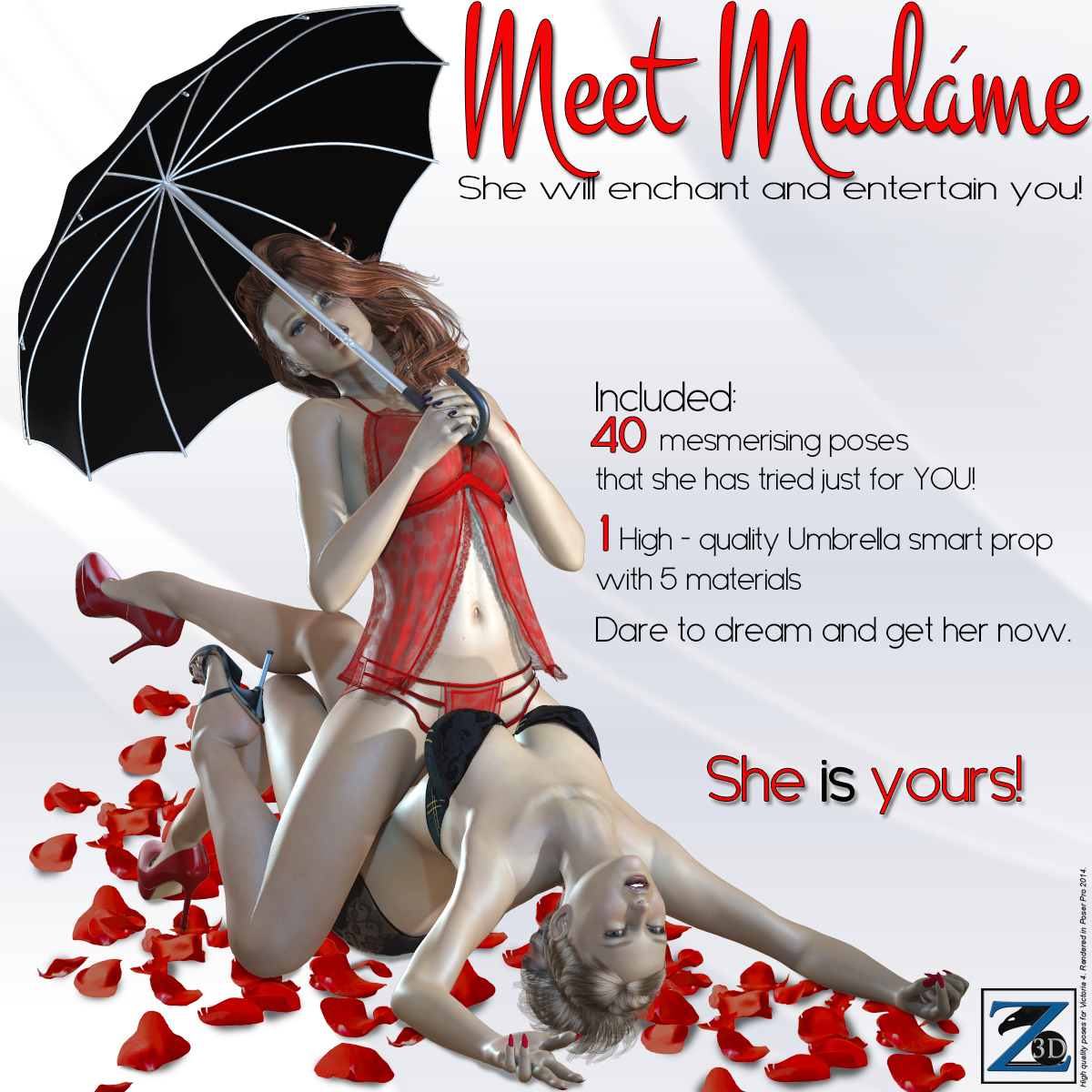 Z Meet Madame - Poses for V4