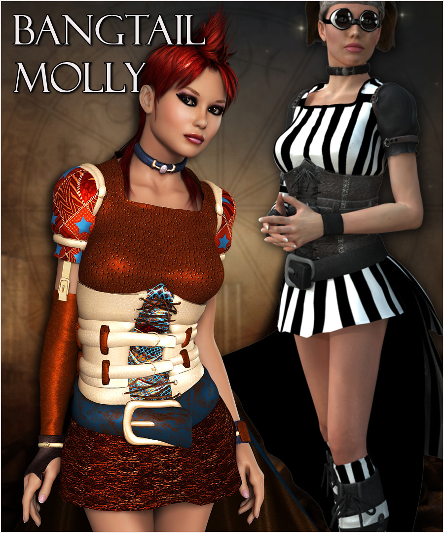Bangtail Molly for V4 by RPublishing