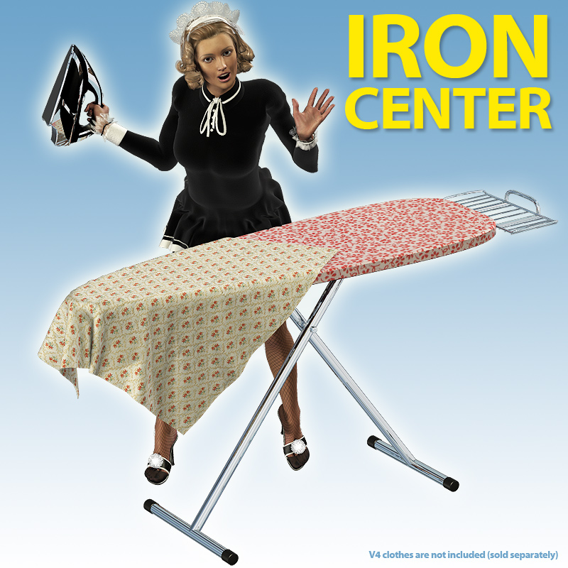 Ironing Center for V4