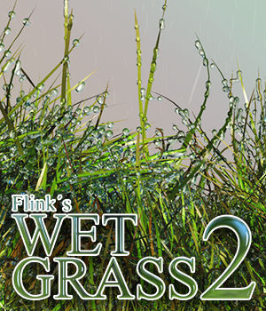 Flinks Wet Grass 2 3D Models Flink