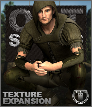 OOT Styles for Sherwood Hunter Outfit for Genesis 2 Male(s) 3D Figure Essentials outoftouch