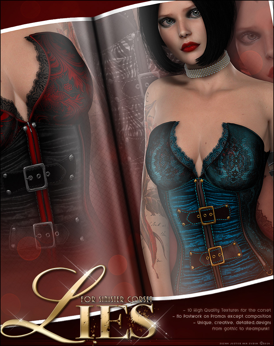 LIES for Sinister Corset