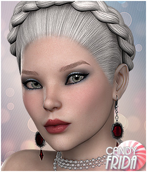 Candy Frida 3D Figure Essentials Sveva