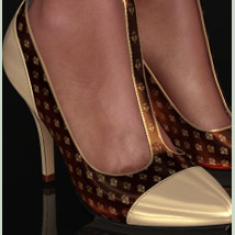 Shoe-Coleration for Ankle Strap Pumps image 1