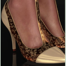 Shoe-Coleration for Ankle Strap Pumps image 2