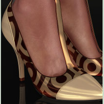 Shoe-Coleration for Ankle Strap Pumps image 3