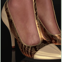 Shoe-Coleration for Ankle Strap Pumps image 4