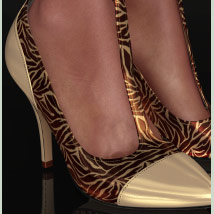 Shoe-Coleration for Ankle Strap Pumps image 5