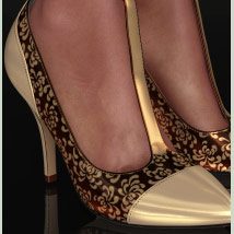 Shoe-Coleration for Ankle Strap Pumps image 6