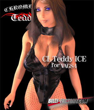 V4 CL Teddy ICE 3D Figure Assets billy-t
