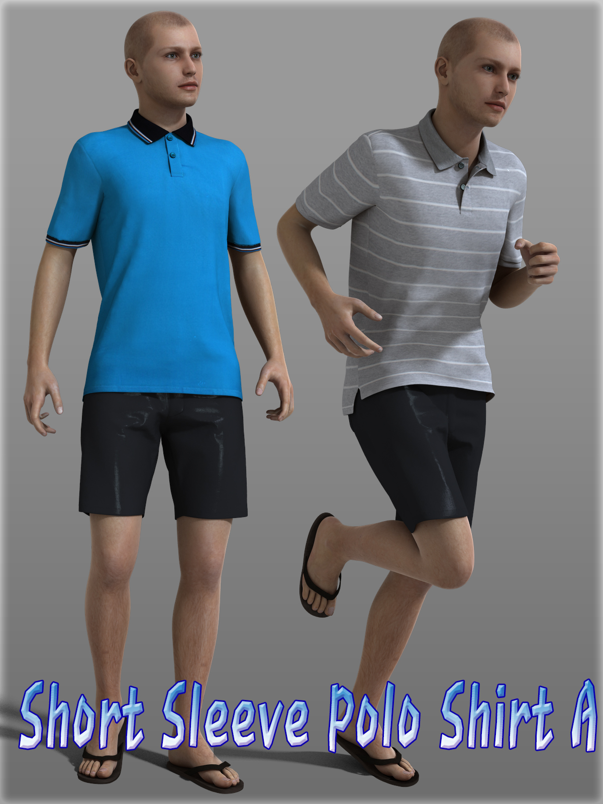 Short Sleeve Polo Shirt A