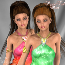 Paris Tail Hair for V4 and G2 image 4