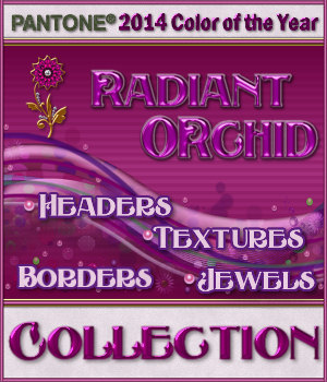 The Radiant Orchid Collection 2D Graphics Merchant Resources fractalartist01