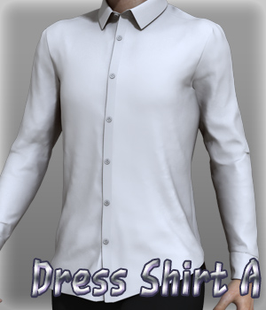 Dress Shirt A 3D Figure Essentials kang1hyun
