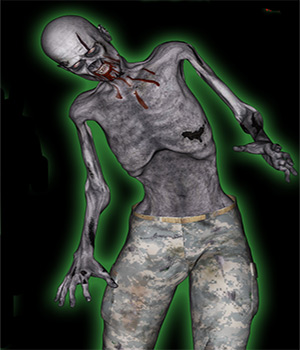 Zombie Moves For M4  3D Figure Essentials fictionalbookshelf