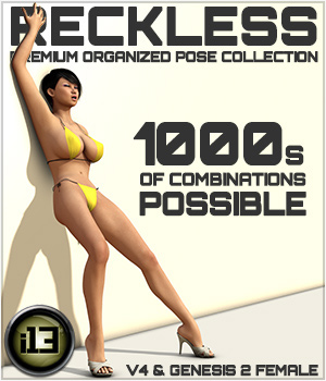 i13 RECKLESS 3D Figure Assets ironman13