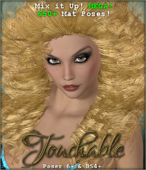 Touchable Aphana 3D Figure Essentials -Wolfie-